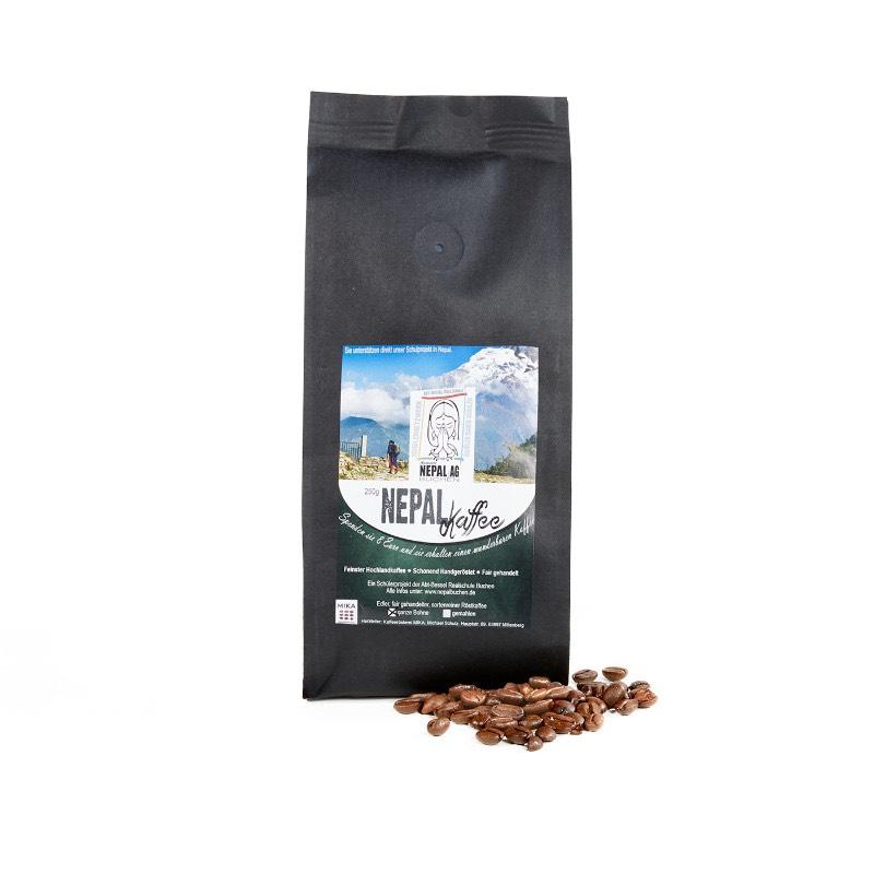 250 g Nepal Kaffee – feinster Hochlandkaffee ( ganze Bohne )
